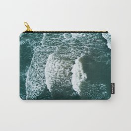 Wavy Waves on a stormy day Carry-All Pouch