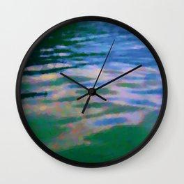 Lakeside abstract Wall Clock