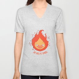 She Likes My Spark! Unisex V-Neck