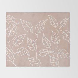 Autumn leaves Throw Blanket