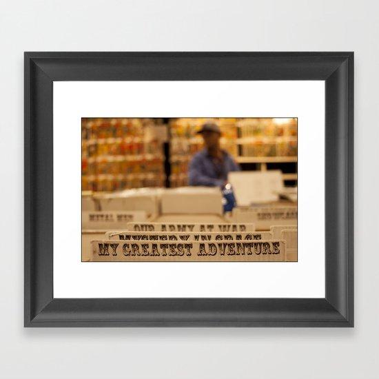 My Greatest Adventure Framed Art Print