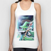merlin Tank Tops featuring Young Merlin by panom