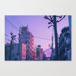 Lilac for a Night Canvas Print