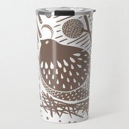 California Quail (Cocoa) Travel Mug