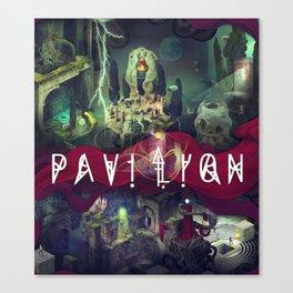 Pavilion Poster Canvas Print