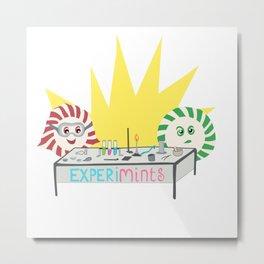 Experimints Metal Print