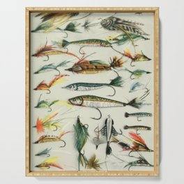 Fishing Lures Serving Tray