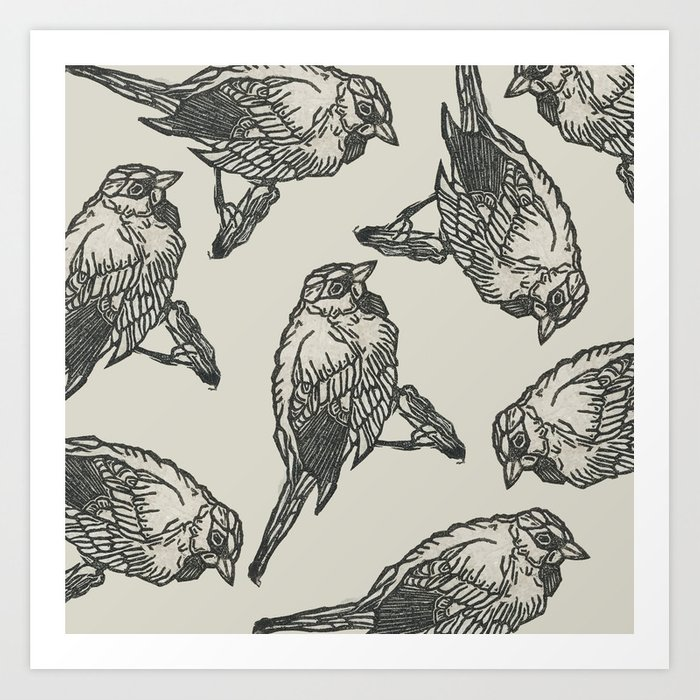Bird Print Art Print