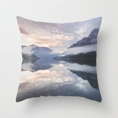 Mornings like this Throw Pillow