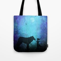 Wolf Whisperer Tote Bag