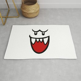 Resting Boo Face Rug