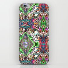 Neon Pinstripes 2 B iPhone & iPod Skin