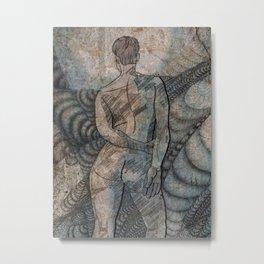 nude study Metal Print