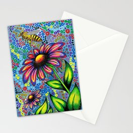 """""""In The Garden"""" Stationery Cards"""