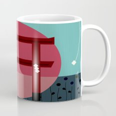 Snowing Sunset Mug