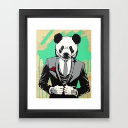 Swag Panda Framed Art Print