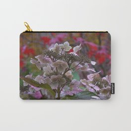 AUTUMN LACECAP HYDRANGEA Carry-All Pouch