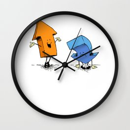 up n down show (alternate version) Wall Clock