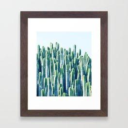 Cactus V2 #society6 #decor #fashion #tech #designerwear Framed Art Print