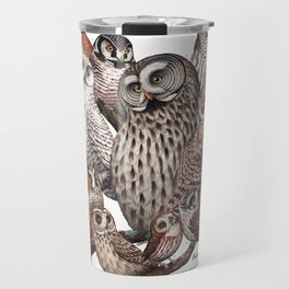 Owls of the Northeast Travel Mug