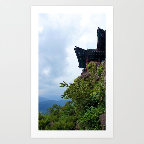Temple Sasung 5 Art Print