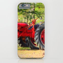 Old Red Farmall iPhone Case