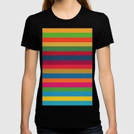 Color Stripes - horizontal - two T-shirt