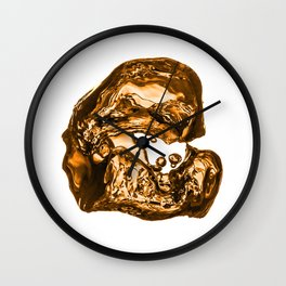 Liquid Gold Wall Clock