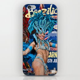 Carnival Dancer iPhone Skin