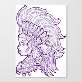 Mictecacihuatl - Lady of the Dead Canvas Print