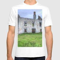 Rodel, Isle of Harris White Mens Fitted Tee MEDIUM