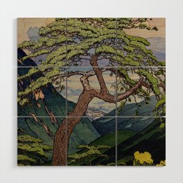 The Downwards Climbing Wood Wall Art