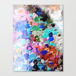 Palette Craze Canvas Print