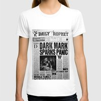 newspaper T-shirts featuring Daily Prophet newspaper  by Basma Gallery