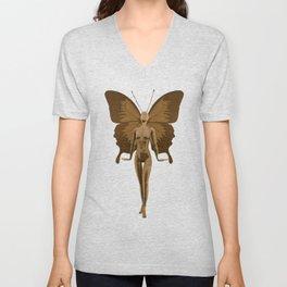 Golden Fairy Unisex V-Neck
