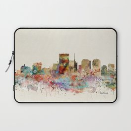 richmond virginia skyline Laptop Sleeve