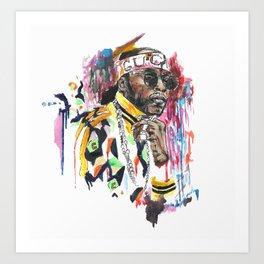 2 Chainzzz Art Print