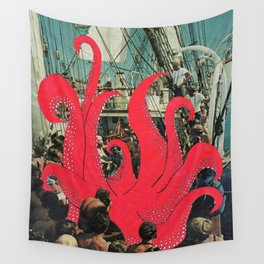 Squids Wall Tapestry