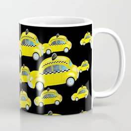 Yellow Taxi Cab Coffee Mug