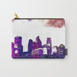 Minneapolis, Minnesota Skyline Carry-All Pouch