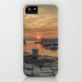 Summer sunset at Lanes Cove iPhone Case