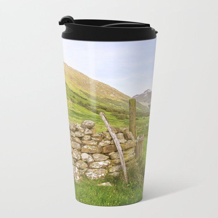 Ben Nevis Mountain Range Metal Travel Mug