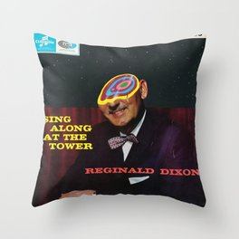 Sing Along At The Tower Throw Pillow