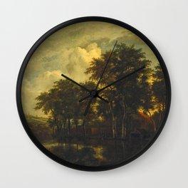 Jacob van Ruisdael - Farm Wall Clock