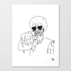 Does He Look Like a Bitch? Canvas Print