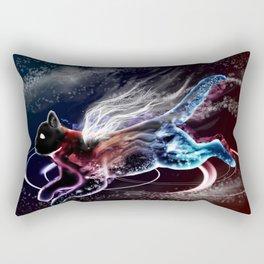 Galacticat or cosmicat Rectangular Pillow