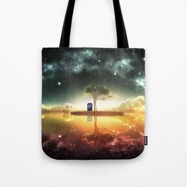 tardis doctor who Tote Bag