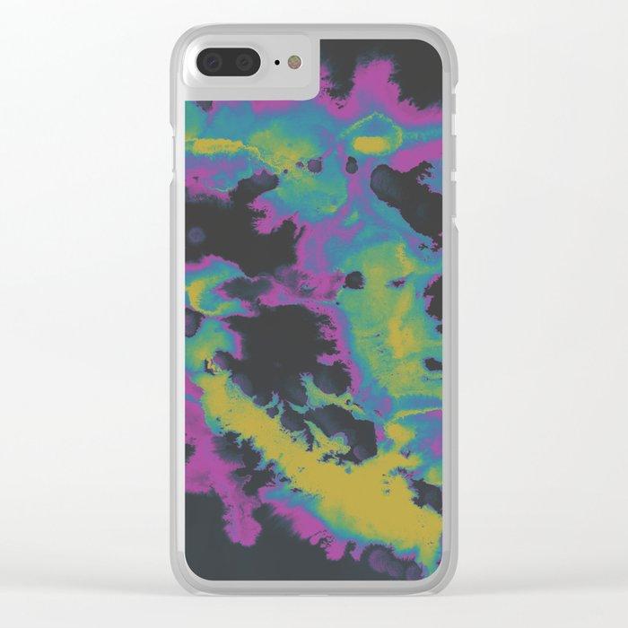 Sleepwalk Clear iPhone Case
