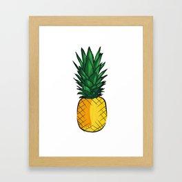 Louder Than Words – Pineapple! Framed Art Print