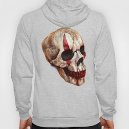 Circus Clown Skull Hoody